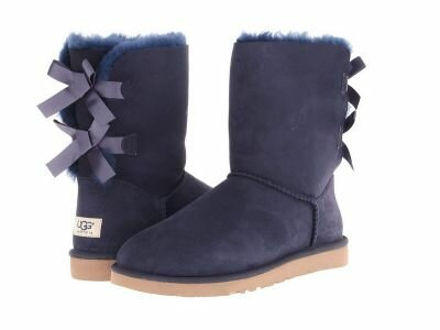 Угги UGG Bailey Bow Blue UBB7