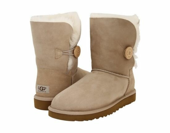 Угги  UGG Bailey Button Sand UBB3